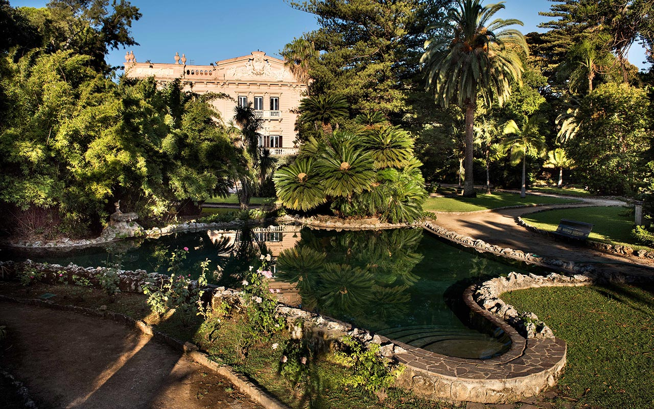 The Sicilian Romantic Garden